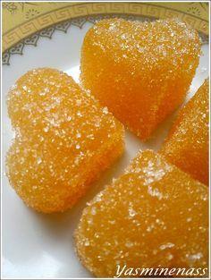 Pâtes de fruits à la mangue/fruits de la passion (à l'agar agar) - A l'orée des douceurs