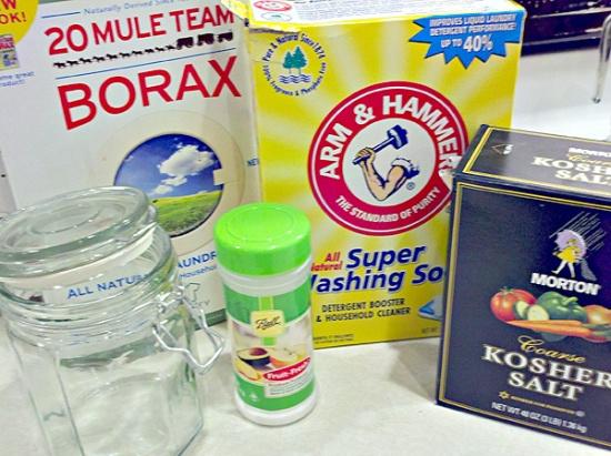 Make your own homemade dishwasher detergent