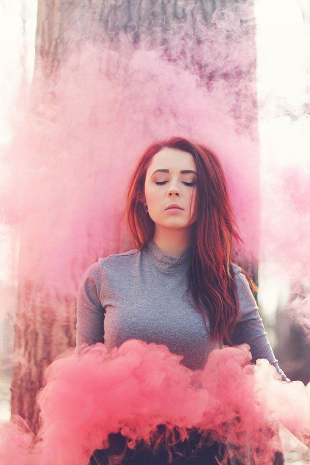 Smoke Bomb Photography   Photography - Portrait Ideas   Pinterest
