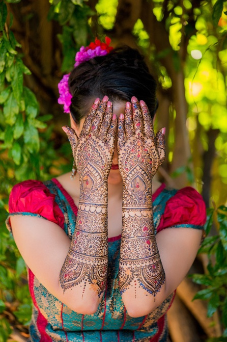henna. Beautiful #Mendi design. #indian_wedding