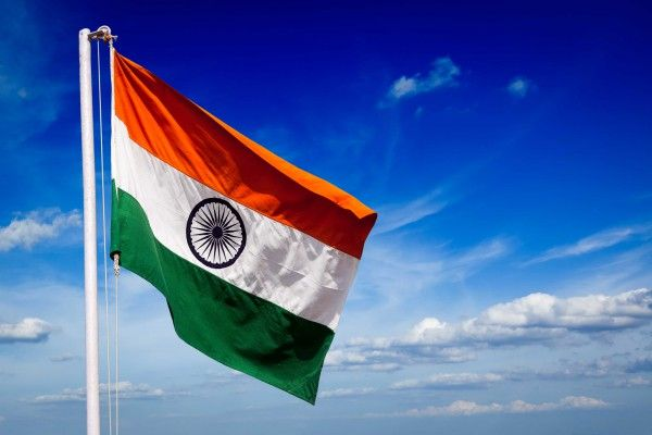Indian flag photo in HD wallpaper quality for free download