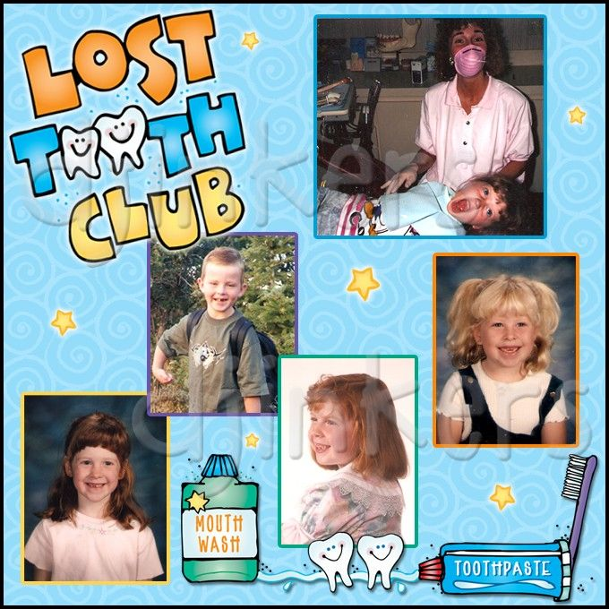 lost tooth club poster, dentist clip art, lost tooth, kids, brush teeth