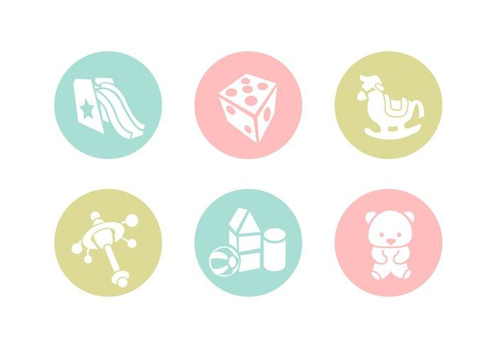 Free vector Free Toys Vector Icons #22303