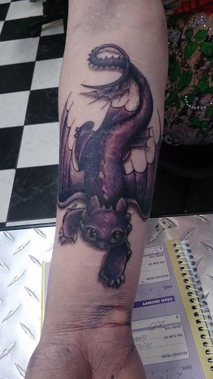 toothless dragon tattoo - Google Search #dragon #tattoos #tattoo