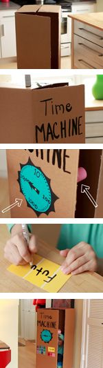 DIY Time Machine for Blast to the Past #BlasttothePastVBS #VBS #VBSDecorations