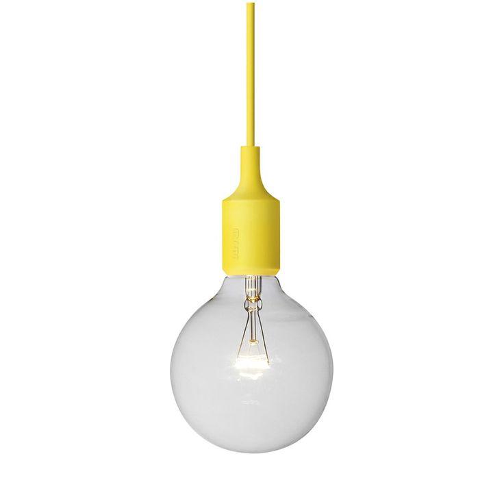 Muuto E27 lampe gul