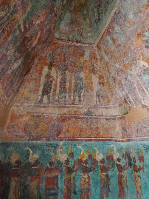 24 best bonampak other maya paintings images on for Bonampak mural painting