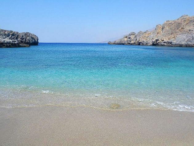 Shinaria beach, Rethymno, Crete, Greece