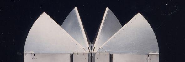 Folding table - aluminium