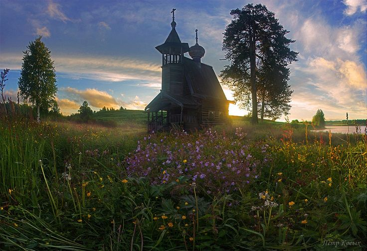 Часовня Сошествия Святого духа в  деревне Глазово - мое самое любимое место в Кенозерском Национальном парке.  #Красоты_России #КрасотыРоссии #Россия