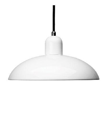 Kaiser Idell 6631 Pendant Light White - Ceiling & Pendant Lights - Lighting - The Conran Shop UK