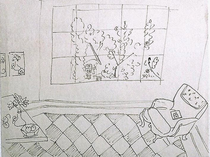 Matisse Drawing from: PAINTING: POWERS OF OBSERVATION: Robert Dukes: Notes on Observational Drawing*