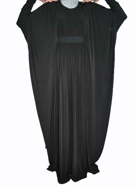 Black Butterfly Abaya