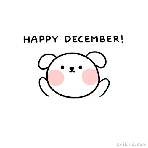"chibird: ""Have some squishy puppy cheeks and a very happy December! >u< Work has been very busy, so sorry it's been a while! I'm trying my best! Webtoon 