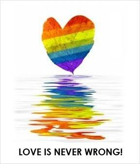 Hate is wrong  Judgement is wrong  Love is beautiful