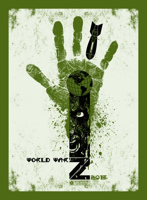 World war Z Movie poster. 2013. by Chris Garofalo