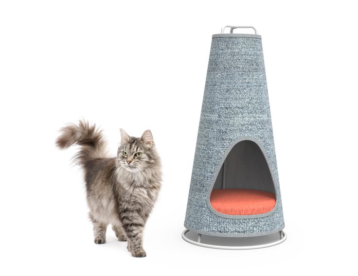 The Cone Scratching Post and Nap Space, by WISKI