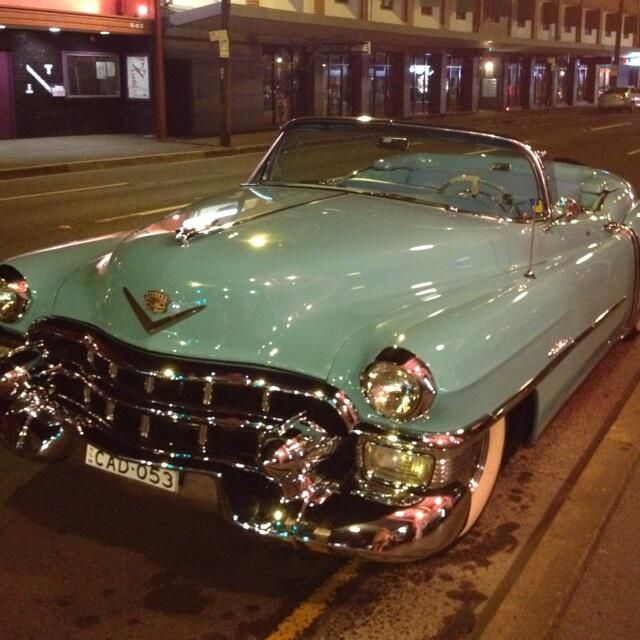1953 Cadillac Convertible 1957 Ford