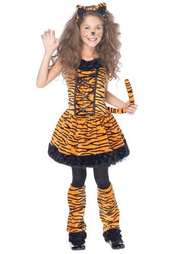 Girls Tiger Costume
