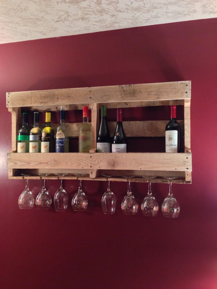 17 best images about diy wooden crafts on pinterest for Arts and crafts wine rack