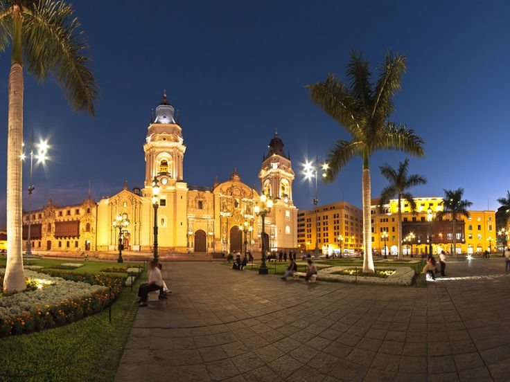 One of the major tourist destinations in Lima, the Catedral de Lima impresses all its visitors with its magnificent structure and design.  Read more: http://www.mapsofworld.com/travel/destinations/peru/catedral-de-lima-cathedral-of-lima#ixzz2hIjHtJdB