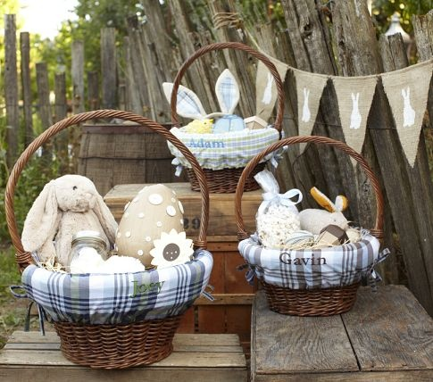 potterybarn easter basket liners, so cute!