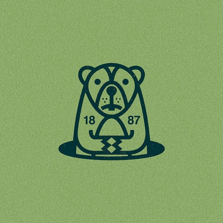 February 2 1887 - In Punxsutawney Pennsylvania the first Groundhog Day is observed.  #thehalfandhalf #illustration #historylessonoftheday #themoreyouknow #thedesigntip #illustree #picame #groundhogday #dribbblers by thehalfandhalf
