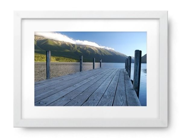 'Jetty, Lake Rotoiti, Nelson Lakes National Park, NZ'