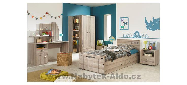 Dětský pokoj Largo G52 - díly