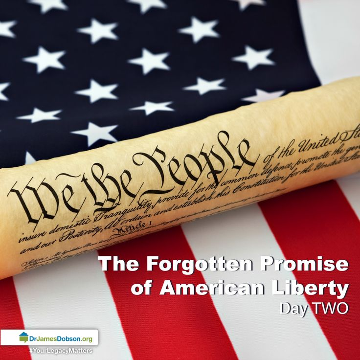 The Forgotten Promise of American Liberty - 12/27/2016 - Day TWO | The history of America is filled with the stories of men and women who labored, fought and prayed for liberty. Today, we inch forward, tolerating our culture and forgetting the liberties our ancestors died for. Without cultivating the knowledge of this country's history, we cannot hope to shape its future. Listen in as Dr. Dobson and Eric Metaxas remind us of the promise of American liberty, and what we can do as a nation to…