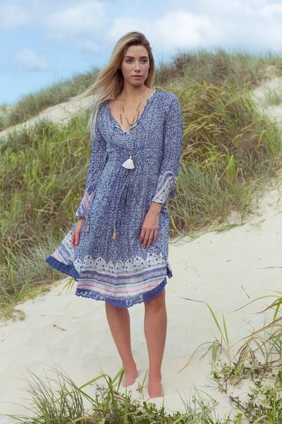 Morocco Dress - Iris & Lin