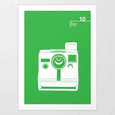 10_coolstuff_R Art Print by Iris & Floss - $18.00