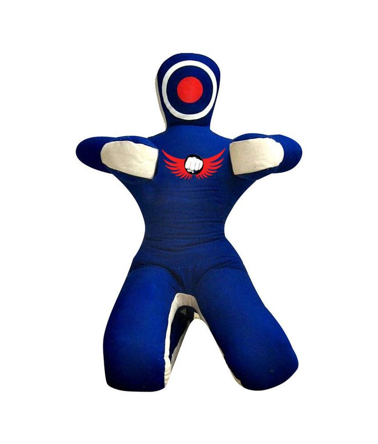 """COSH Submission Style BJJ Blue   White MMA Grappling Dummy In Canvas 72"""" #COSH"""