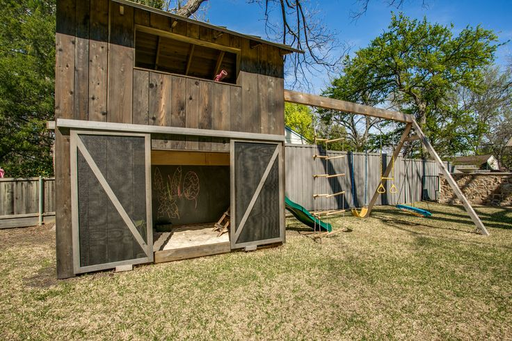 playground in a barn - Google Search