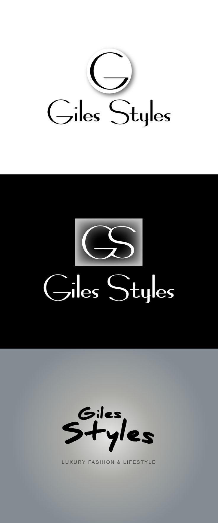 Logo Idea for Giles Styles  #logo #logotype #branding #stationary #graphic #design #illlustrator