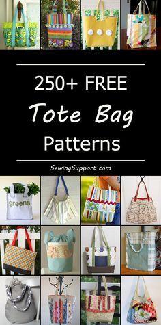 250+ Free Tote Bag Patterns Lynda Rhodes