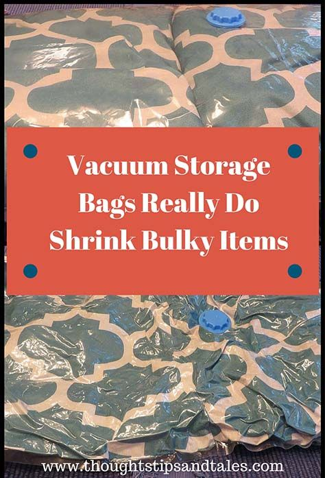 If you're like me, you've seen vacuum storage bags for years and were always leery about whether they'd be effective. I tested a dollar store bag and they work!