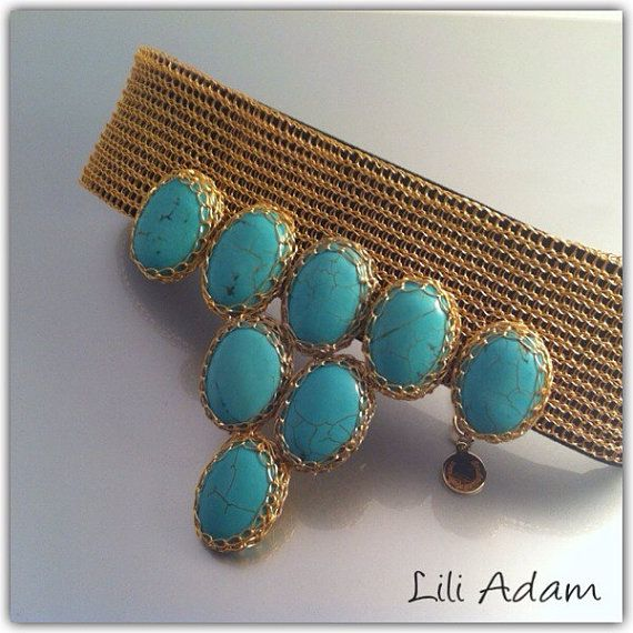 Turquoise summer dream by CRIS B on Etsy