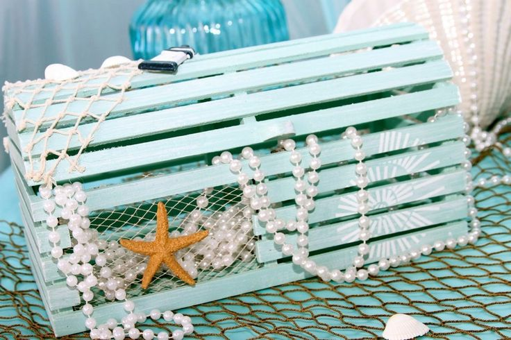 Under the Sea (The Little Mermaid) Treasure Chest - Centerpiece Decorations