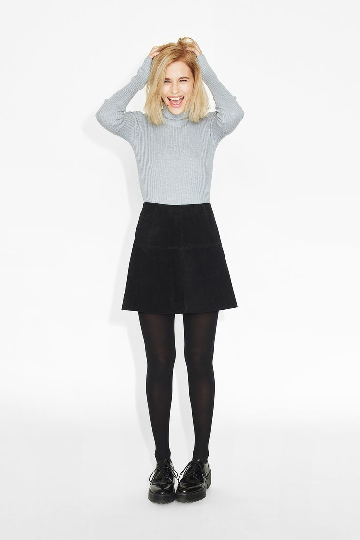 Monki | View all new | Steph suede skirt