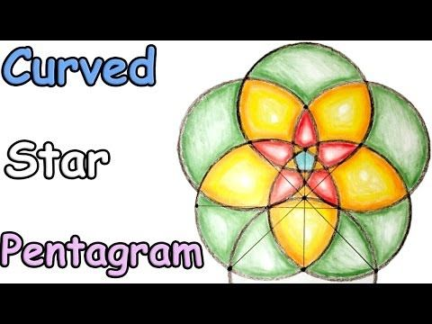 how to draw a pentagram with a ruler