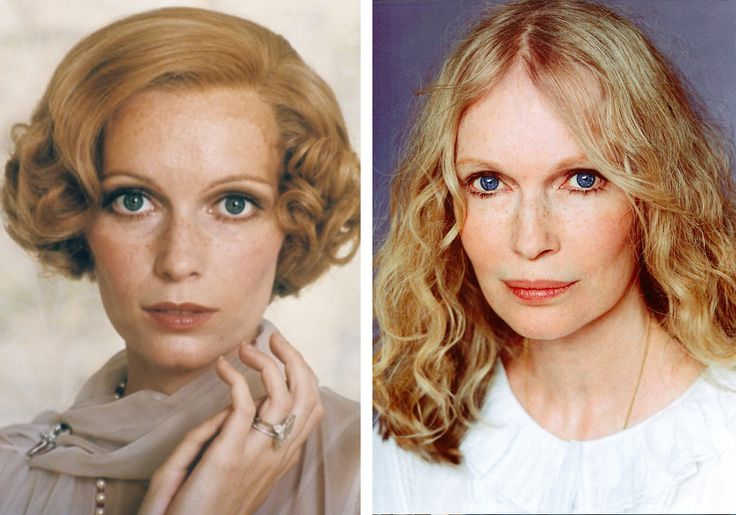 Mia Farrow Women Of The 70 S Then And Now Then Now