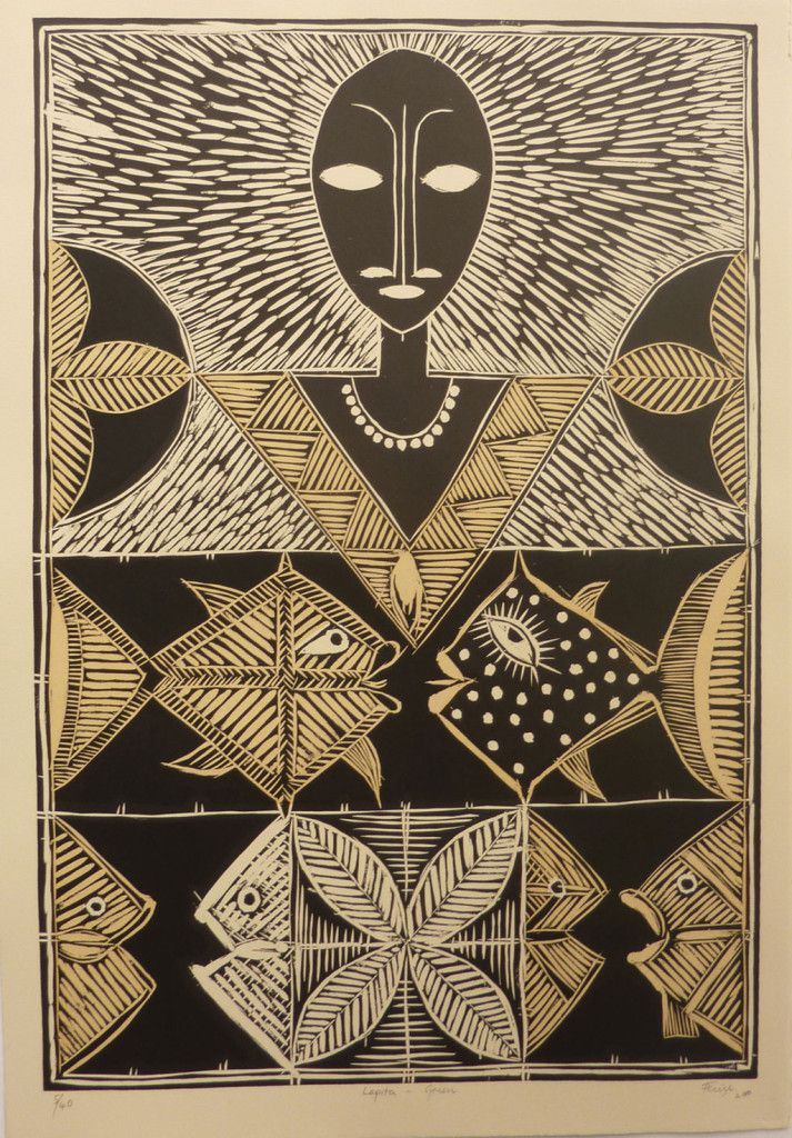 Fatu Feu'u is a renowned artist, acknowledged as both a leader and mentor within the Pacific arts community. Fatu grew up in the village Poutasi in Western Samoa, immigrating to New Zealand in 1966. Exhibiting since the early 1980s, he became a full-time artist in 1988. He is a multi-media artist and while primarily a painter, he explores a range of other mediums including bronze, wood and stone sculpture, pottery design, lithographs, woodcuts and glass works. Fatu gains inspiration from…