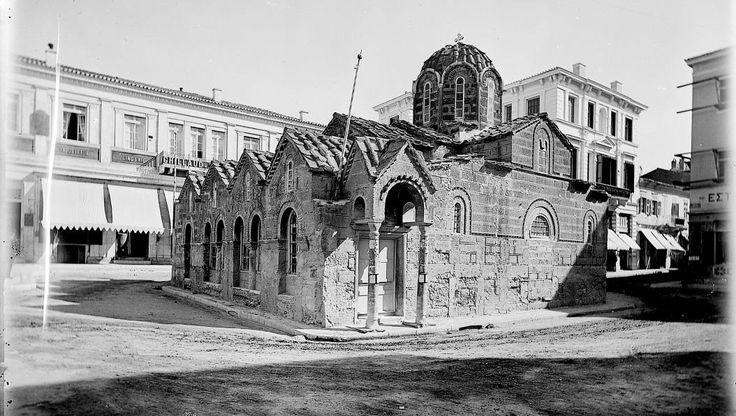 Robert Weir Schultz και Sidney Barnsley Αθήνα  ιερός ναός της Παναγιάς Καπνικαρέας 1889