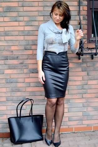 Image result for sindrive satin blouses Black leather