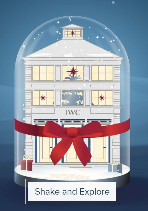 Let's open the new Holiday Season! Shake and discover the new IWC snow globe