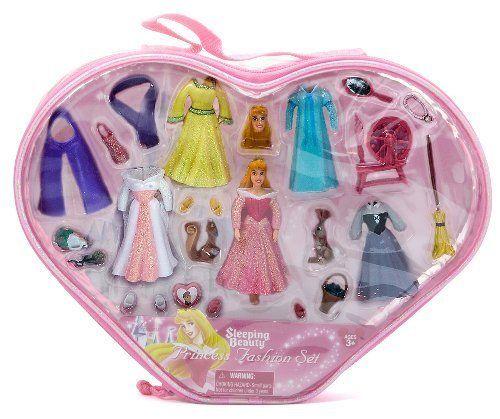 Disney's Princess Fashion Set Figures