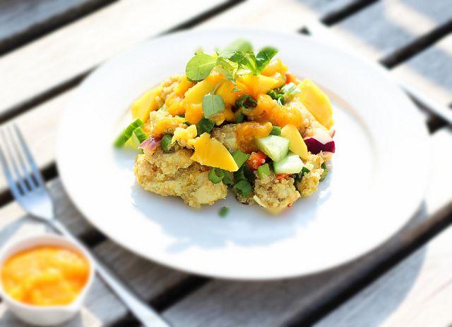 Recept: Quinoa Salade met Kip en Mango Saus | The Beauty Assistant