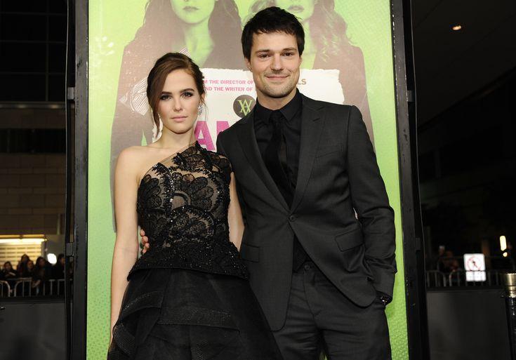 #VA Zoey Deutch & Danila (aka Rosa & Dimitri) at Vampire Academy movie premiere
