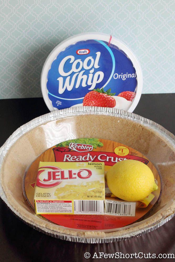 Lemon Ice Box Pie-1-3